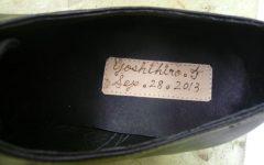 Tさんウェディング用靴③