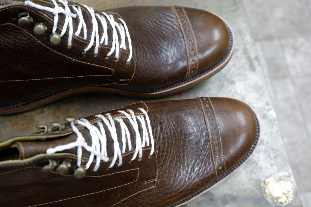 Sさん 靴教室 ウエルト処理