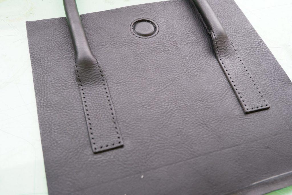 Uさん かばん作り教室 ハンドバッグ